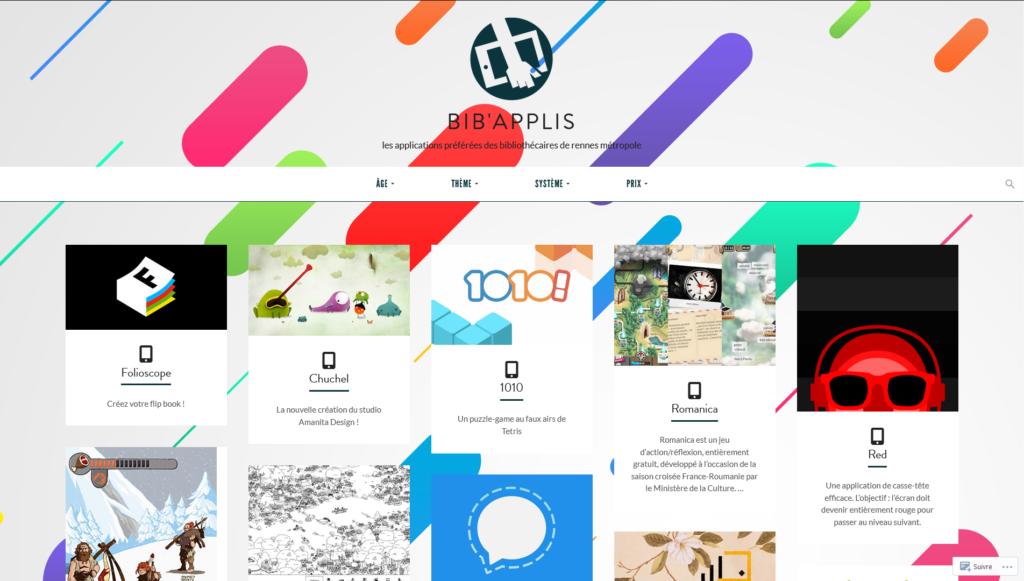 Les applications préférées des Bibliothécaires de Rennes Métropole