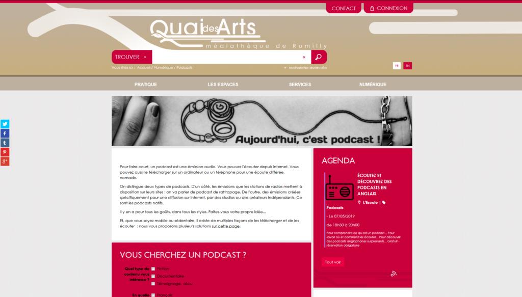 Une sélection de podcasts de la médiathèque de Rumilly