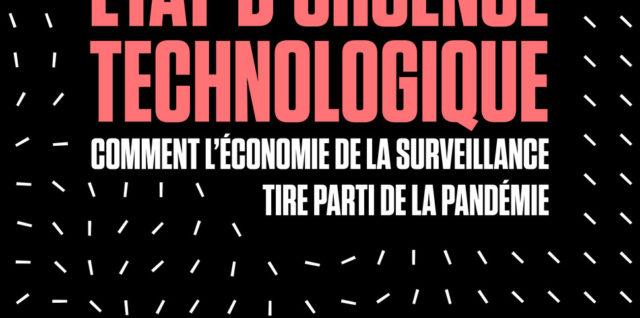 couverture Etat d'urgence technologique- olivier tesquet
